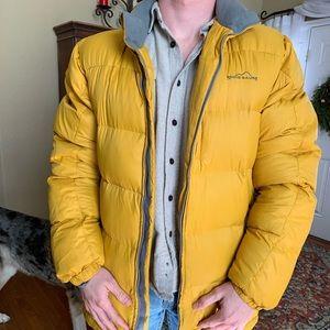 VINTAGE!! Eddie Bauer goose down puffer jacket